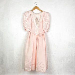 Jessica McClintock for Gunne Sax 80s Vintage Dress
